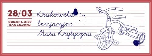 Baner Krakowskiej Inicjacyjnej Masy Krytycznej