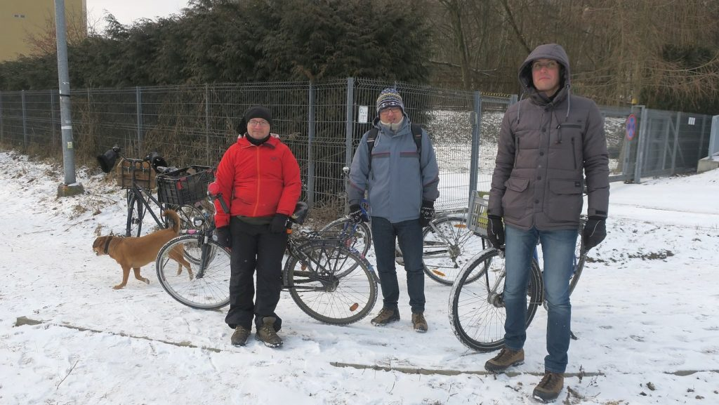 ekipa kraków miastem rowerów podejmuje interwencje nawet w zimie
