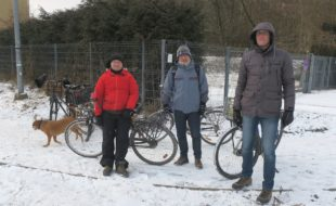 ekipa kraków miastem rowerow_podejmuje interwencje nawet w zimie